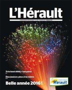 Magazine de l'HeŽrault n252 - Janvier 2016
